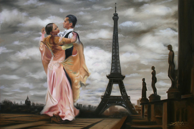 Art Painting Paris